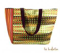 grand sac en wax Sidonie