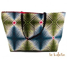 grand sac en wax Sidonie