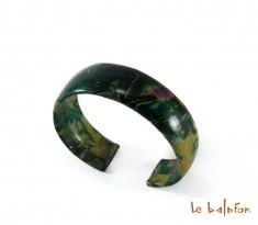 Bracelet en cuir tie and dye