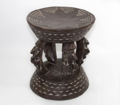 Tabouret traditionnel Dogon