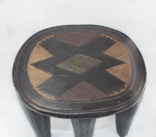 Tabouret Nupé traditionnel
