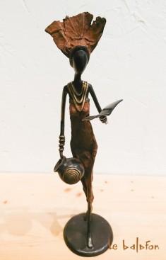 Sculpture bronze la Petite Liseuse