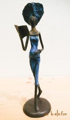 """Sculpture bronze """"la femme enceinte"""""""